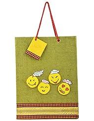 Richa Kriti Paper Green Shopping Bag