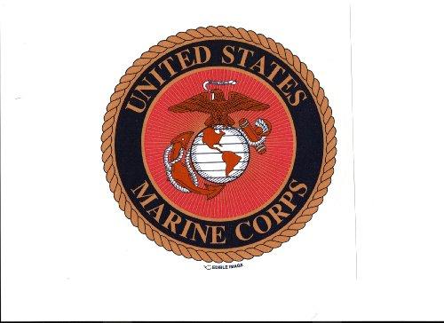 Lucks Edible Image, US Marines Logo, 12 Count - 1