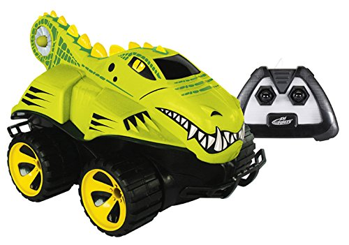 Kid-Galaxy-Amphibious-RC-Car-Mega-Morphibians-Crocodile-All-Terrain-Remote-Control-Toy-49-MHz