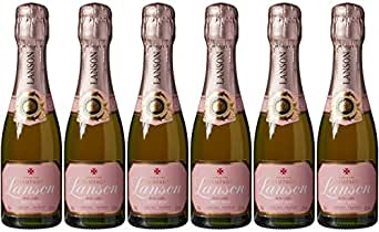 Lanson Rose Label Brut Non Vintage 20 cl (Case of 6)