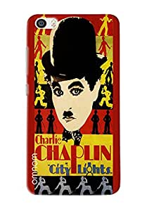 Omnam Charlie Chaplin City Lights Printed Designer Back Cover Case For Xiaomi Mi5