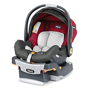 The Chicco KeyFit 30 Infant Car Seat is the premier infant carrier for safety, comfort, and convenience. With its removable newborn insert, the KeyFit 30 Car Seat will accommodate your baby from four to thirty pounds. The KeyFit 30's thickly cushione...