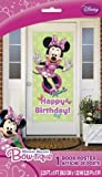 Minnie Mouse Happy Birthday Wall Door Decoration 27 X 60 Poster New