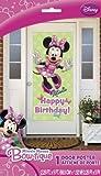 Minnie Mouse Plastic Door Poster (1ct)