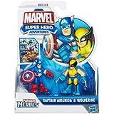 Marvel Super Hero Adventures Captain America & Wolverine