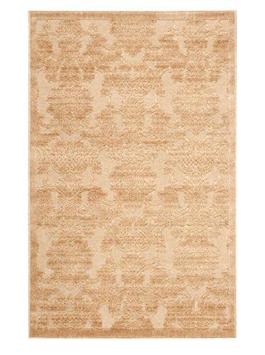 Nourison Graphic Illusions Rug, Light Gold, 7' 9