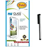 Tidel 0.3mm Tempered Glass Screen Guard Protector For Lenovo A6000 Plus With Stylus