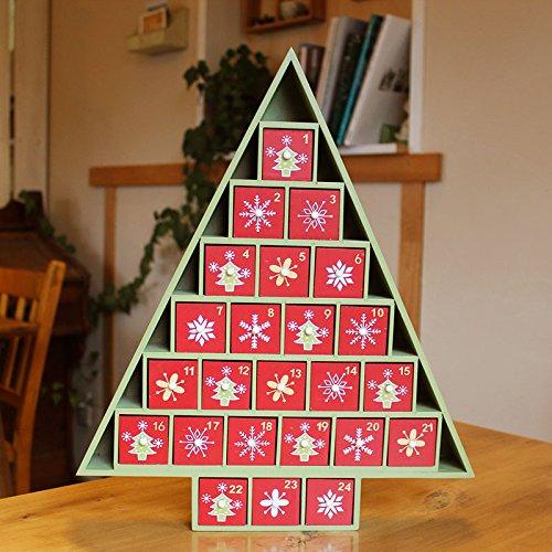 アドベントカレンダー ツリー/クリスマス オーナメント 飾り