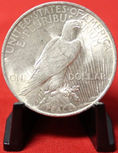1923 No Mint Mark Peace Dollar Seller Au50