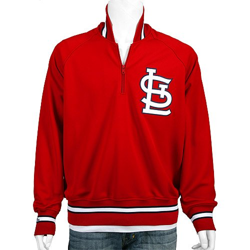 St. Louis Cardinals Authentic 1985 BP Jacket by Mitchell & Ness at Amazon.com