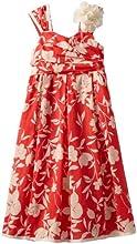 Bonnie Jean Big Girls39 Coral Floral Print Dress