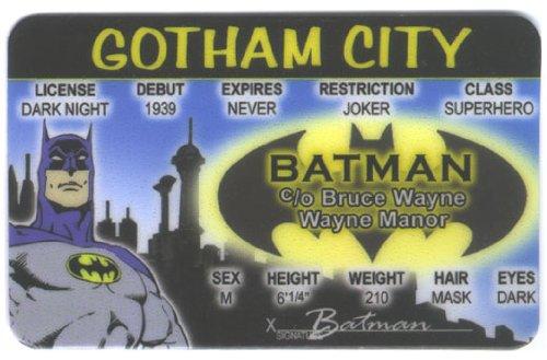 Batman Fun Fake ID License - 1