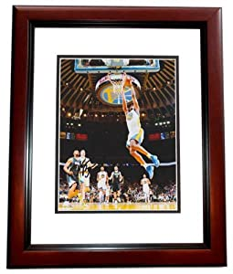 Harrison Barnes Autographed  Hand Signed Golden State Warriors 8x10 Photo - MAHOGANY...