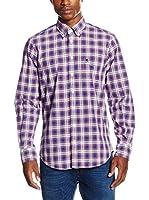Otto Kern Camisa Hombre (Azul)