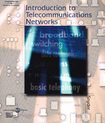 Introduction to Telecommunications Networks