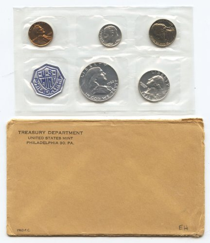 1962 United States Silver Proof Set Mint Sealed