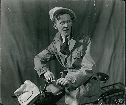 ?éke S?Š derblom un attore svedese, sceneggiatore e Songwriter Photo ristampa, 12x16
