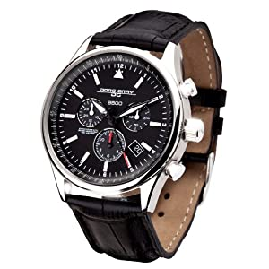 Jorg Gray Limited Edition 6500 Swiss Black Dial Men