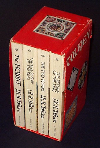 J.R.R. Tolkien Box Set (The Hobbit, The Fellowship of the Ring, The Two Towers, The Return of the King) (Volumes 1-4)