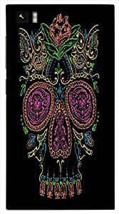 Timpax protective Armor Hard Bumper Back Case Cover. Multicolor printed on 3 Dimensional case with latest & finest graphic design art. Compatible with Xiaomi Mi 3 Design No : TDZ-26046
