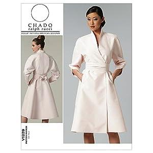 Amazon.com: Vogue Patterns V1239 Misses' Dress and Belt, Size AA (6-8