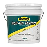 Roll On Wall Texture White, 2 gal, Sand Decorative Finish (Color: White)
