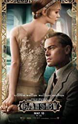 The Great Gatsby (2013) 11 x 17 Movie Poster Leonardo DiCaprio, Joel Edgerton, Tobey Maguire, Style B