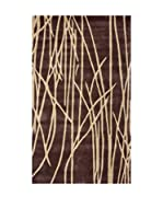 Tapis a Porter Alfombra Vision Naturel Toprak Marrón 120 x 180 cm