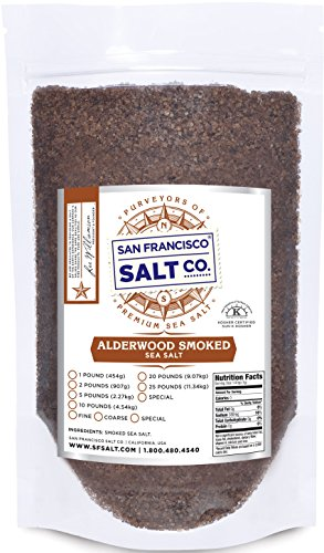 Alderwood Smoked Sea Salt (2lb Bag Coarse Grain) (Smoked Salt Coarse compare prices)