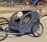 Solvit HoundAbout Pet Bicycle Trailer, Steel Frame, Large