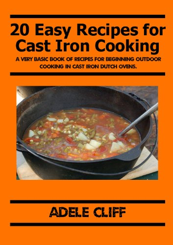 Free Kindle Book : 20 Easy Recipes for Cast Iron Cooking