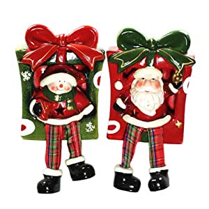 Buy snowman santa gift boxes led light christmas decor - Buy christmas decorations online india ...