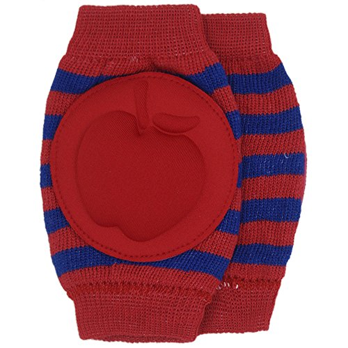 New Baby Crawling Knee Pad Toddler Elbow Pads 8055216 Red-navy