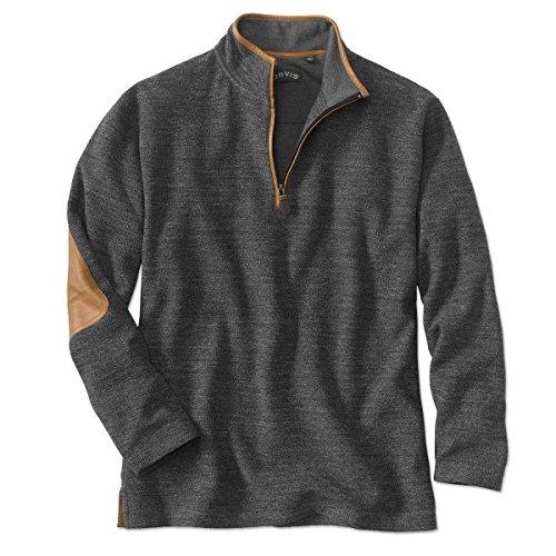 orvis-simoom-tweed-quarter-zip-sweatshirt-charcoal-large