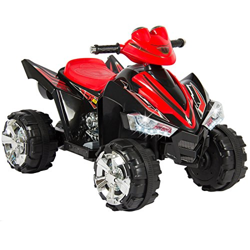 [Kids Ride On Quad 4 Wheeler 12V Battery LED Lights & Music Rechargeable Battery Park Yard Outdoor] (Animals That Begin With S)