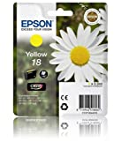 Epson 18 Yellow Original Ink Cartridge C13T18044010 Daisy Series 1804 Epson Expression Home Printers