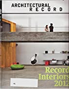 Architectural Record August 2010