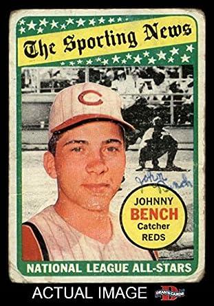 1969 Topps 430 All Star Johnny Bench