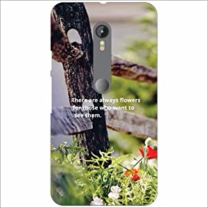 Moto G (3rd Generation) Back Cover - Nature Love Designer Cases