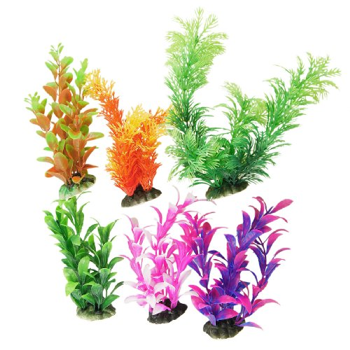 Aquarium Plastic Plant Decoration