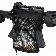 Black Hill Armory Nylon Mesh Trap Zipper Closure Ammo Brass Shell Catcher Bag (Black)