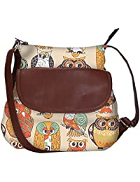 Faces Of Owl Obo, Ethnic Hobo Bag, Aztec Hobo Bag, Native Style Bag, Large Hobo Bag, Zipper Closure Bag, Large...