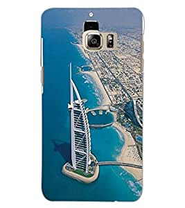 SAMSUNG GALAXY S6 EDGE PLUS BUILDING Back Cover by PRINTSWAG