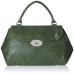 Baggit L Pose Wan Women's Satchel Handbag (Olive)