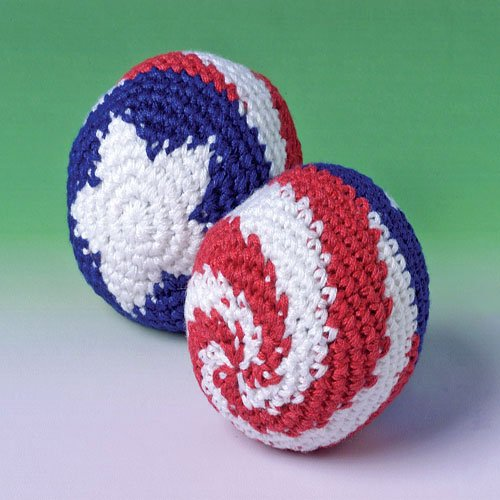 Patriotic Kickballs