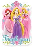 Disney Princess Fanciful Thank You Postcards 8 Pack