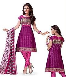 Kesar Sarees Womens Cotton Dress Material (Kessa1005 _Multi-Coloured _Free Size)