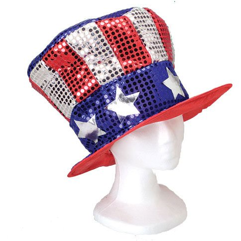 b47b5e429fa1 Fourth of July Uncle Sam Top Hats | Fourth Of July Wikii