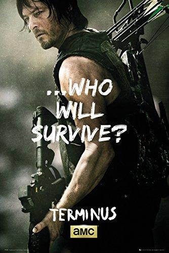 GB eye LTD, The Walking Dead, Daryl Survive, Maxi Poster, 61 x 91,5 cm