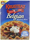 Krusteaz Belgian Waffle Mix, 28-Ounce Boxes (Pack of 4)